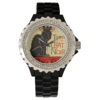 Tournée du Chat Noir Art Nouveau Watch