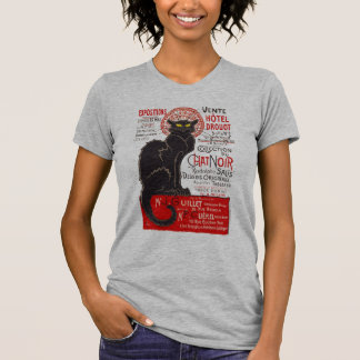 Tournee du Chat Noir French Art Nouveau Black Cat T-Shirt
