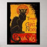 Tournee du Chat Noir Print