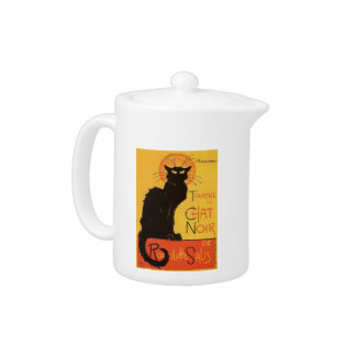 Tournée du Chat Noir, Steinlen Black Cat Vintage