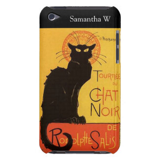 Tournée du Chat Noir, Steinlen Black Cat Vintage Case-Mate iPod Touch Case