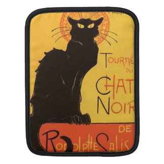 Tournée du Chat Noir, Steinlen Black Cat Vintage iPad Sleeve