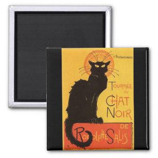 Tournée du Chat Noir Steinlen Black Cat Vintage Magnets