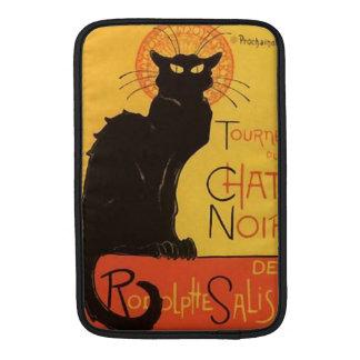 Tournée du Chat Noir, Steinlen Black Cat Vintage Sleeve For MacBook Air