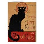 Tournée du Chat Noir, Théophile Steinlen Greeting Card