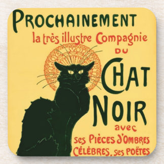 Tournée du Chat Noir, Théophile Steinlen Coaster