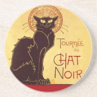 Tournée du Chat Noir Théophile Steinlen Drink Coasters