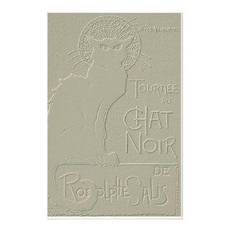 Tournée du Chat Noir, Théophile Steinlen Customized Stationery