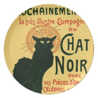 Tournée du Chat Noir, Théophile Steinlen Dinner Plates