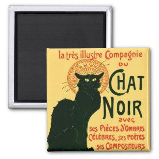 Tournée du Chat Noir, Theophile Steinlen Square Magnet