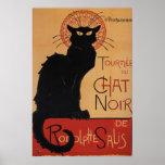 Tournée du Chat Noir, Théophile Steinlen Poster
