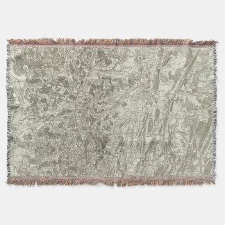 Tournus, Lonsle Saunier Throw Blanket