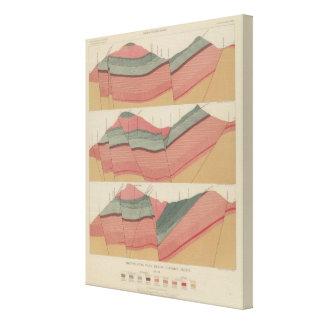 Tourtelotte Park Mining District Sheet Canvas Print