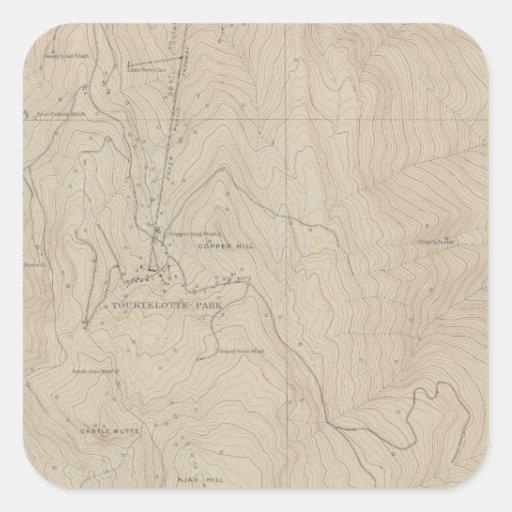 Tourtelotte Park Special Atlas Map Sticker