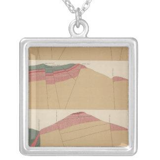 Tourtelotte Park Special Sheet Atlas Silver Plated Necklace