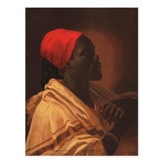 Toussaint L'Ouverture by George DeBaptiste (1870) Postcard