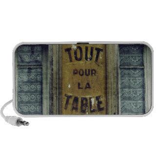 Tout Pour la Table Portable Speakers