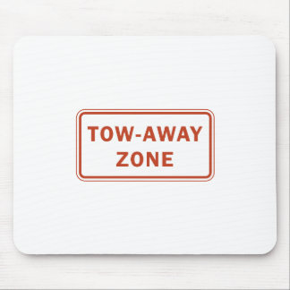 Tow-Away Zone Mousepads