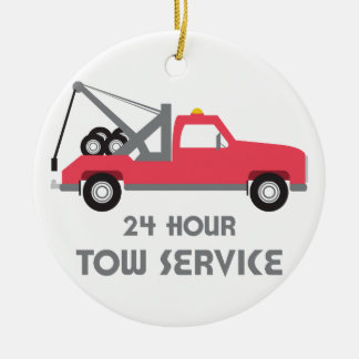 Tow Service Christmas Ornament