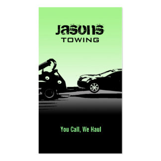 Tow Truck Business Cards