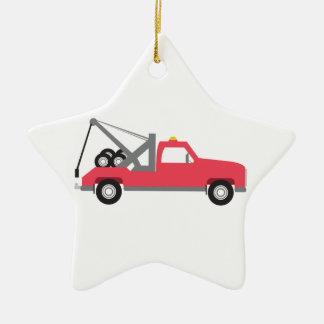 Tow Truck Christmas Ornament