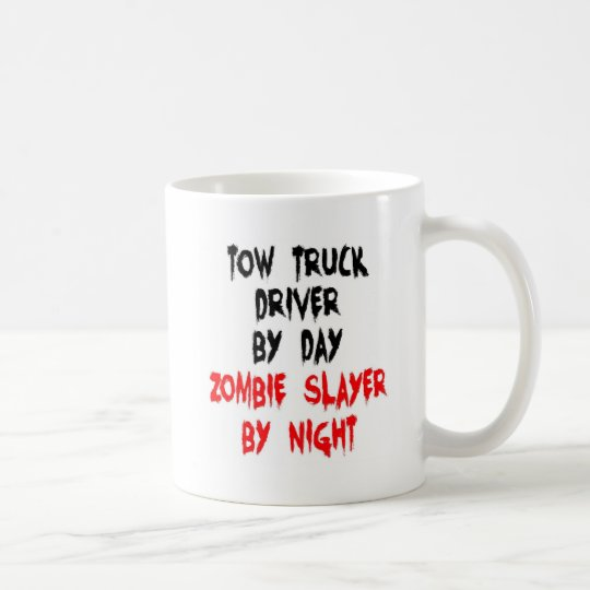 Tow Truck Driver Zombie Slayer Coffee Mug