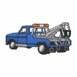 Tow Truck Embroidered Polo Shirt