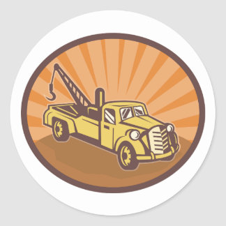 Tow Truck Stickers