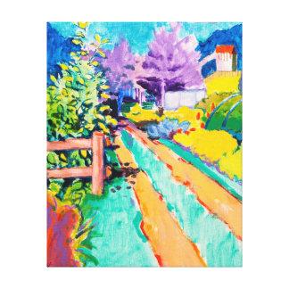 Towards Victoria Park Canvas Print