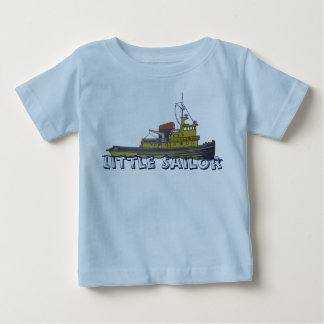 Towboat tugboat graphic draw cover baby T-Shirt