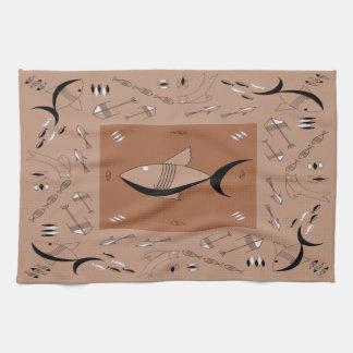 Towel FABULOUS 1950s FISH Retro Vintage 200 COLORS