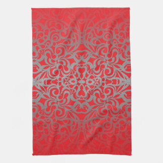 Towel Floral abstract background