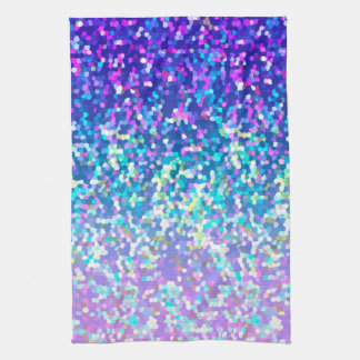 Towel Glitter Graphic Background