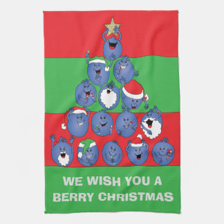 "Towels ""Berry Christmas"""