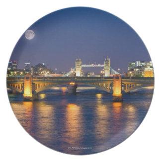 Tower Bridge 2 Plate