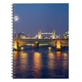 Tower Bridge 2 Spiral Notebook