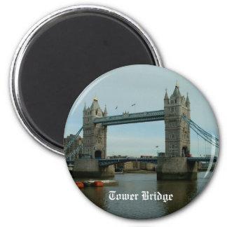 Tower Bridge 6 Cm Round Magnet