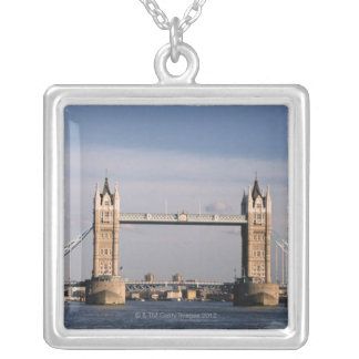 Tower Bridge 6 Silver Plated Necklace