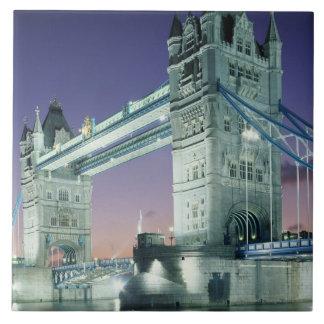 Tower Bridge 7 Large Square Tile