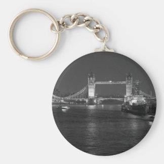 Tower Bridge and HMS Belfast Keychain