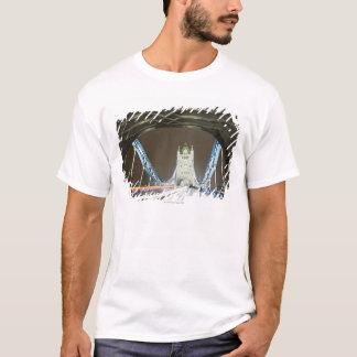 Tower Bridge and Thames River at Dusk T-Shirt