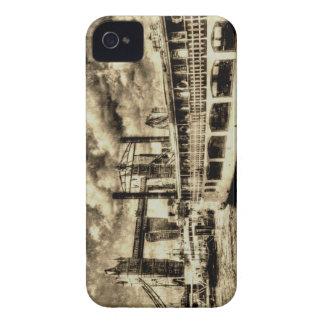 Tower Bridge and the Elizabethan Vintage iPhone 4 Case