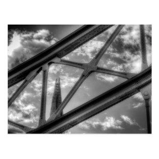 Tower Bridge and the Shard Postcard