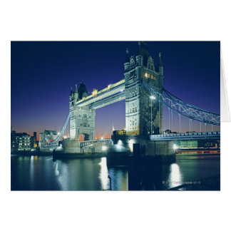 Tower Bridge at Dusk Card