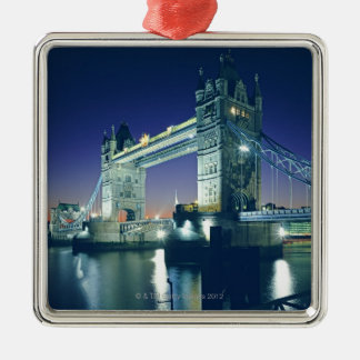 Tower Bridge at Dusk Christmas Ornament
