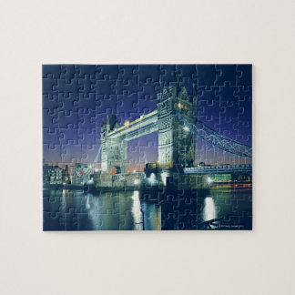 Tower Bridge at Dusk Jigsaw Puzzle
