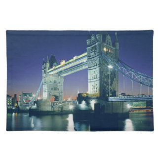 Tower Bridge at Dusk Placemat