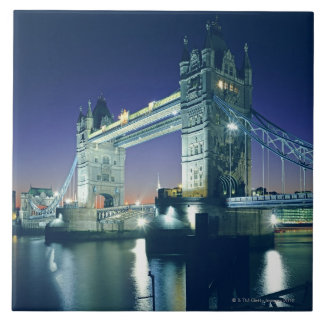 Tower Bridge at Dusk Tile