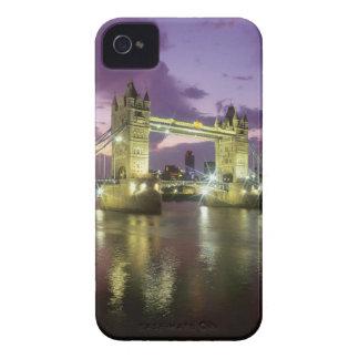 Tower Bridge at Night iPhone 4 Case-Mate Cases