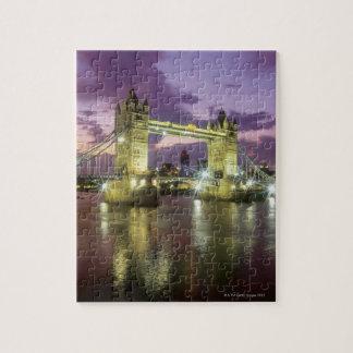 Tower Bridge at Night Jigsaw Puzzle